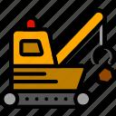 loader, quarry, transport, vehicle