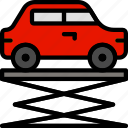 car, lift, transport, vehicle
