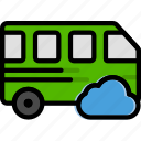 add, car, cloud, to, transport, vehicle icon