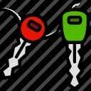 car, keys, transport, vehicle