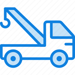 auto, car, crane, transport, vehicle icon