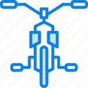 auto, bicycle, transport, vehicle icon