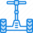 car, segway, transport, vehicle icon