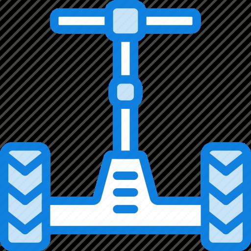 Car, segway, transport, vehicle icon