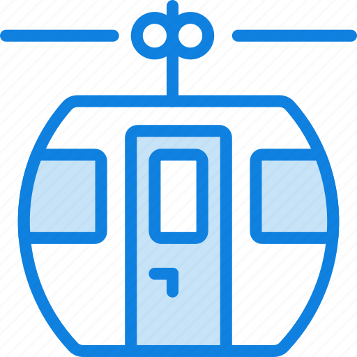cable, transport, vehicle icon