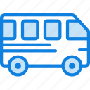 bus, car, transport, vehicle icon