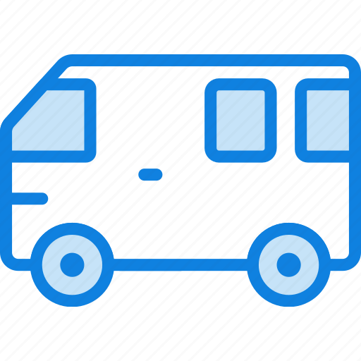 auto, bus, car, transport, vehicle icon