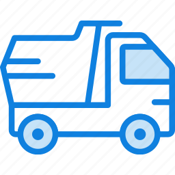 auto, car, dump, transport, truck, vehicle icon
