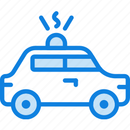 auto, car, police, transport, vehicle icon