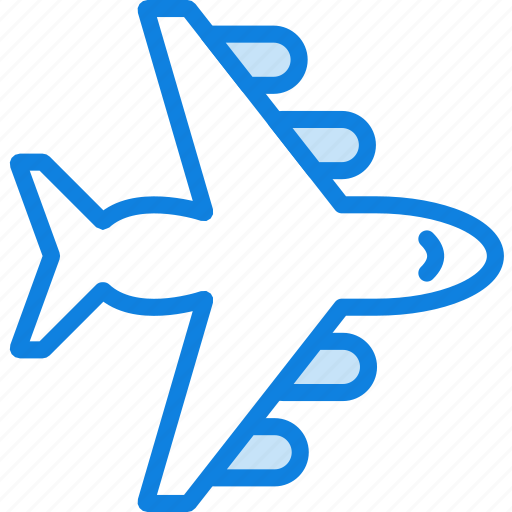 air, plane, transport, vehicle icon