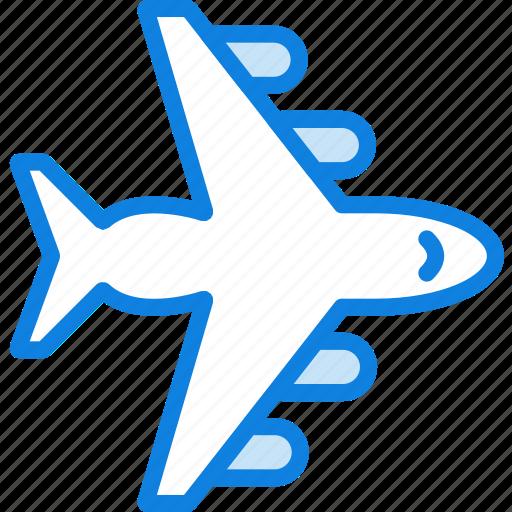 Air, plane, transport, vehicle icon