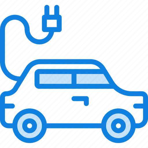 auto, car, electric, transport, vehicle icon