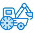 car, loader, transport, vehicle icon
