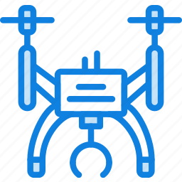 drone, transport, vehicle icon