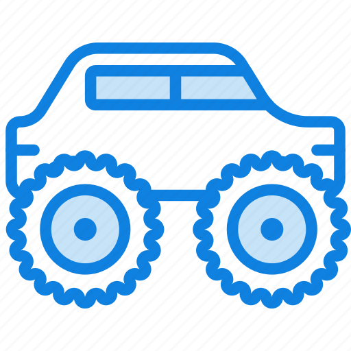 auto, car, monster, transport, truck, vehicle icon
