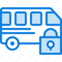 car, lock, transport, vehicle icon