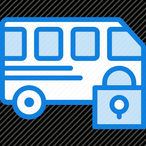 car, lock, transport, vehicle icon