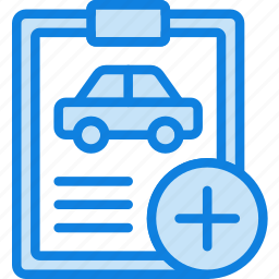 add, car, details, transport, vehicle icon