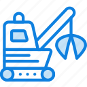 garbage, loader, transport, vehicle icon
