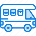 trailer, transport, vehicle icon