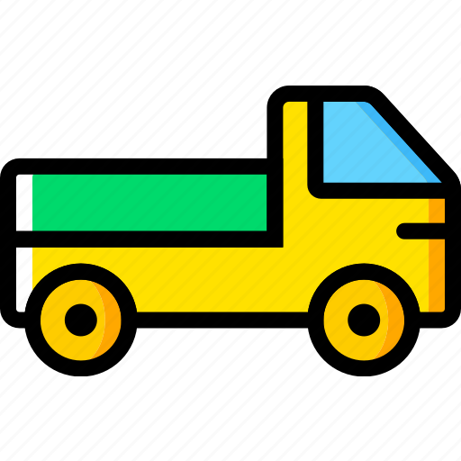 pick, transport, truck, up, vehicle icon