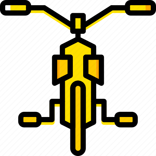 bicycle, transport, vehicle icon