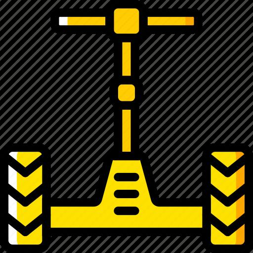segway, transport, vehicle icon