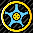 car, rim, transport, vehicle icon