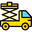 car, lifter, transport, vehicle icon