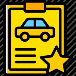 car, details, favorite, transport, vehicle icon