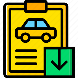 car, details, download, transport, vehicle icon