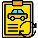 car, details, sync, transport, vehicle icon