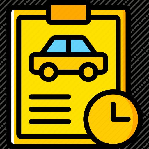 car, details, for, transport, vehicle, wait icon