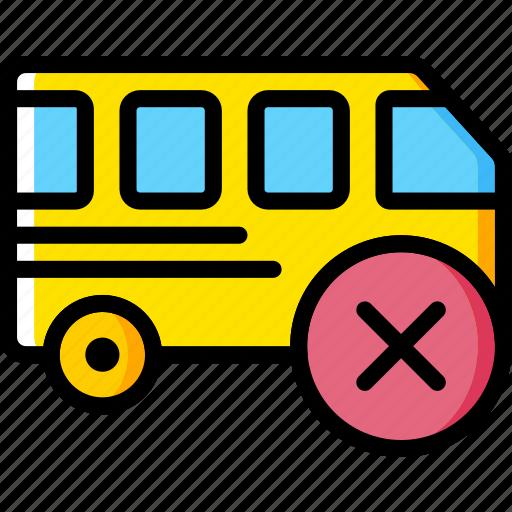 car, delete, transport, vehicle icon