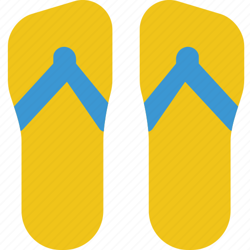 flip, flops, holiday, seaside, vacation icon