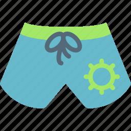 holiday, seaside, shorts, vacation icon