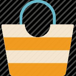 bag, beach, holiday, seaside, vacation icon