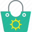 bag, beach, holiday, seaside, vacation icon