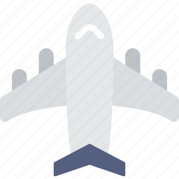 holiday, plane, seaside, vacation icon
