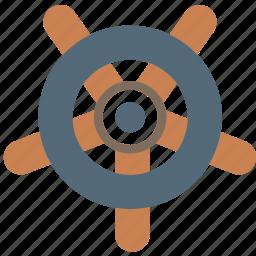 holiday, navigator, seaside, vacation, wheel icon