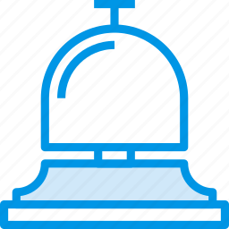 bell, holiday, hotel, seaside, vacation, webby icon