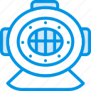 deep, diving, gear, holiday, seaside, vacation, webby icon