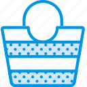 bag, beach, holiday, seaside, vacation, webby icon