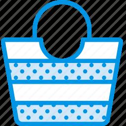 bag, beach, holiday, seaside, vacation, webby icon