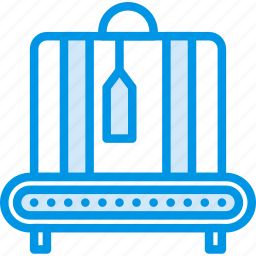 airport, check, holiday, out, seaside, vacation, webby icon
