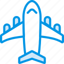 holiday, plane, seaside, vacation, webby icon