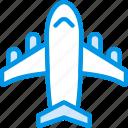 holiday, plane, seaside, vacation, webby icon