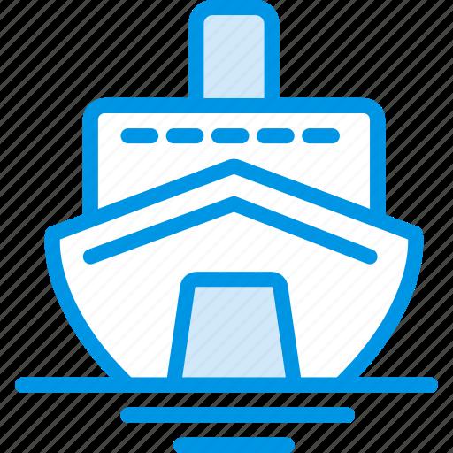 cruise, holiday, seaside, vacation, webby icon