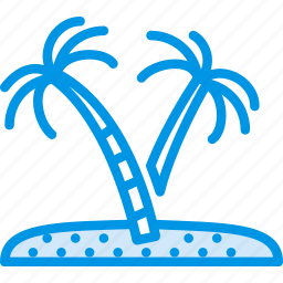 exotic, holiday, island, seaside, vacation, webby icon