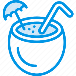 cocktail, holiday, seaside, vacation, webby icon